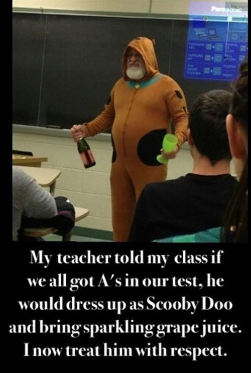 scooby doo teacher