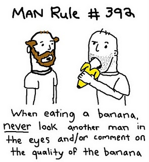 man rule on bananas
