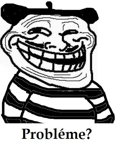 french trollface
