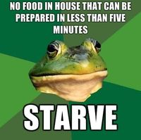 food in five minutes