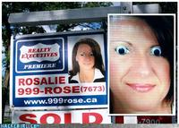 realtor sign owned