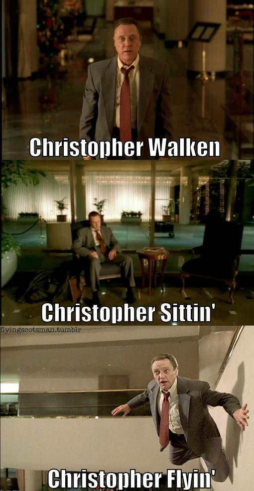 christopher walkin