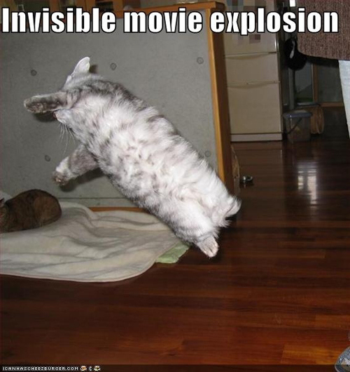invisible movie explosion
