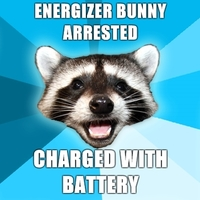 energizer bunny arrested
