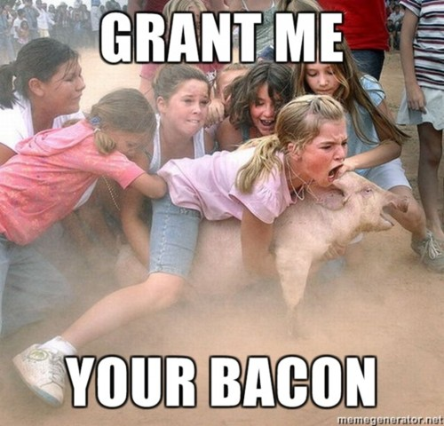 grant me your bacon - pichars.org