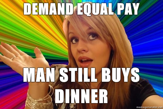 when girls demand equal pay