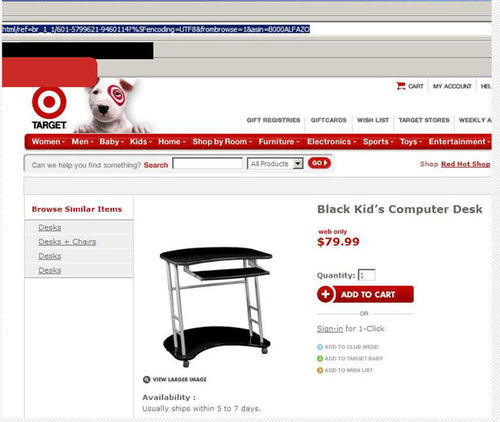 black kids computer desk - pichars.org