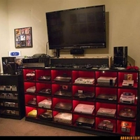 Now, that's a gaming station!