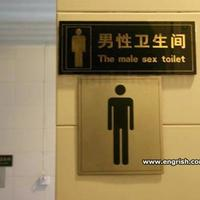 The male sex toilet
