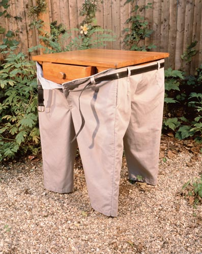 pants for a table because fuck you