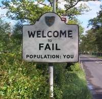 welcome to fail